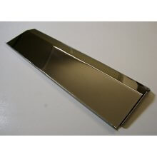 1808 279 X 76mm Chrome Plate Inner Flap