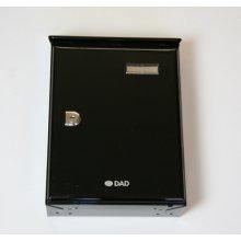 Picardie 118 489 No.1 Letter Box Black
