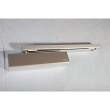 TS92B 2-4 Silver Contur Cam-Action Door Closer With Arm & Channel