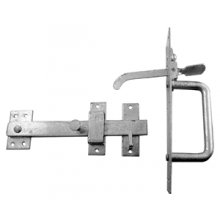 50/4 Heavy Electro Galvanised Suffolk Latch