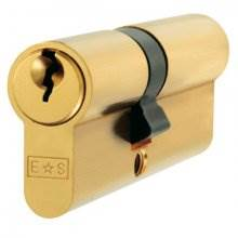 Eurospec 80mm Offset (35/45) Euro Double Cylinder Lock
