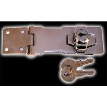 369Sp 102Mm Locking Hasp & Staples Chrome
