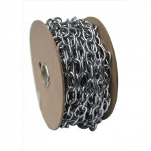 242 10Mm Chrome Oval Link Chain