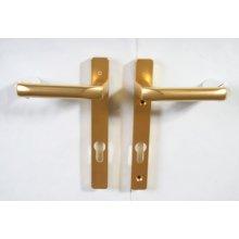 Hoppe 618606 gold lever door handle