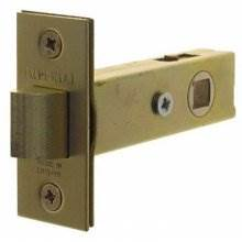 Guardian G4060 151Mm Satin Brass Tubular Mortice Door Latch