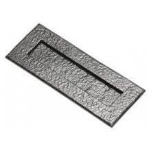 Kirkpatrick 1083 266 X 108Mm Black Antique Letter Plate