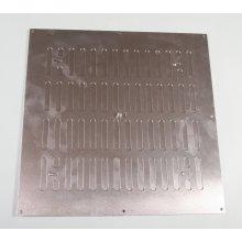 305 x 305mm Hit & Miss Vent Aluminium PR6316