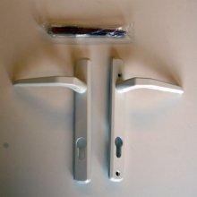 Avocet 158w white lever door handle