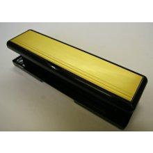 Mila Master 110469W Gold/Black Frame 265Mm X 70Mm Combination Letter Plate