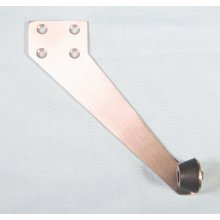 Dh038 Satin Stainless Right Hand Top Jam Door Stop
