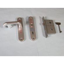 Ho1485.03 Left Hand Radar Lockset Aluminium 1 Keyed