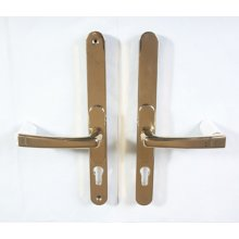 MPHGG Gold Multi-Positional lever door handle 60-95mm Centres