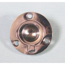 P1717/B  44M Polished Chrome Round Flush Ring