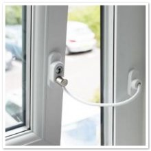 Penkid White Window & Door Restrictor