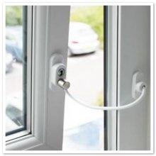Penkid White Window & Door Restrictor