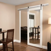 Henderson Rustic 80 Steel Sliding Barn Door Kit 80SS/20
