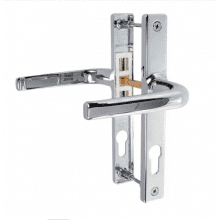 Schlosser Apto Polished Chrome Door Handles To Suit Ferco