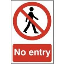 0600 No Entry Sign
