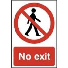 0602 No Exit Sign