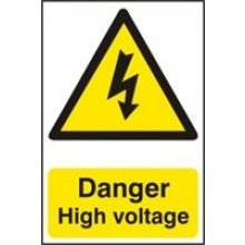 0761 Danger High Voltage Sign
