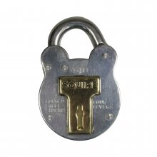 Squire 440 4Lever Galvanised Padlock 50mm