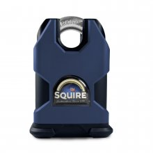 Squire SS50CS 50mm Stronghold Padlock Solid Steel Closed Shackle