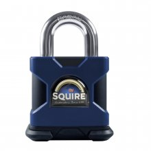 Squire SS50S 50mm Stronghold Padlock Solid Steel Open Shackle