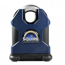 Squire SS65CS 65mm Padlock Solid Steel Closed Shackle