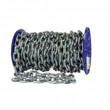 338/Z (3442-249) Bzp 6.0 X 24Mm Short Link Chain