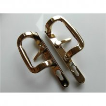 Sparta Patio Door Handle Gold PVD
