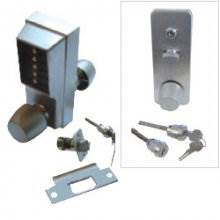 Unican 1031-26D-41 Satin Chrome Digital Door Lock With Passage