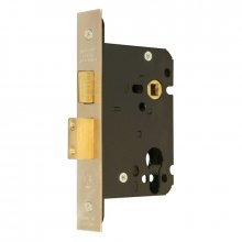 Guardian Y7000 63Mm S.Steel Euro sash door lock Case Only