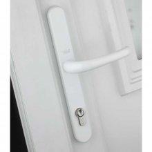 Yale Universal Repair Lever Door Handle Adjustable Fixings White