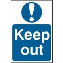 0255 Keep Out Sign
