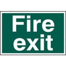 1502 Fire Exit Sign