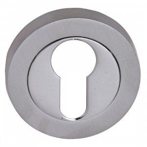 Fortessa Feesc Satin/Polished Chrome Euro Key Hole Cover