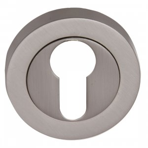 Fortessa Feesc Satin Nickel Euro Key Hole Cover