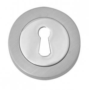 Fortessa Fesc Satin/Polished Chrome Standard Key Hole Cover