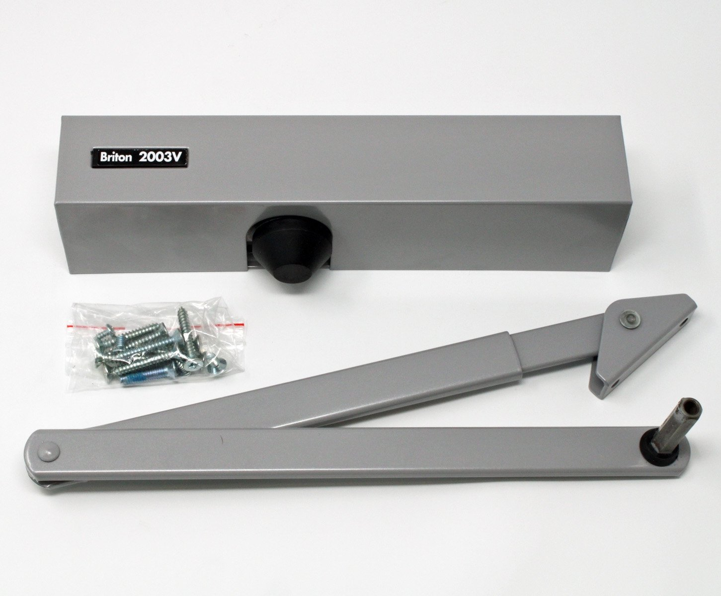 Briton 2003v Overhead Door Closer Silver Overhead Door