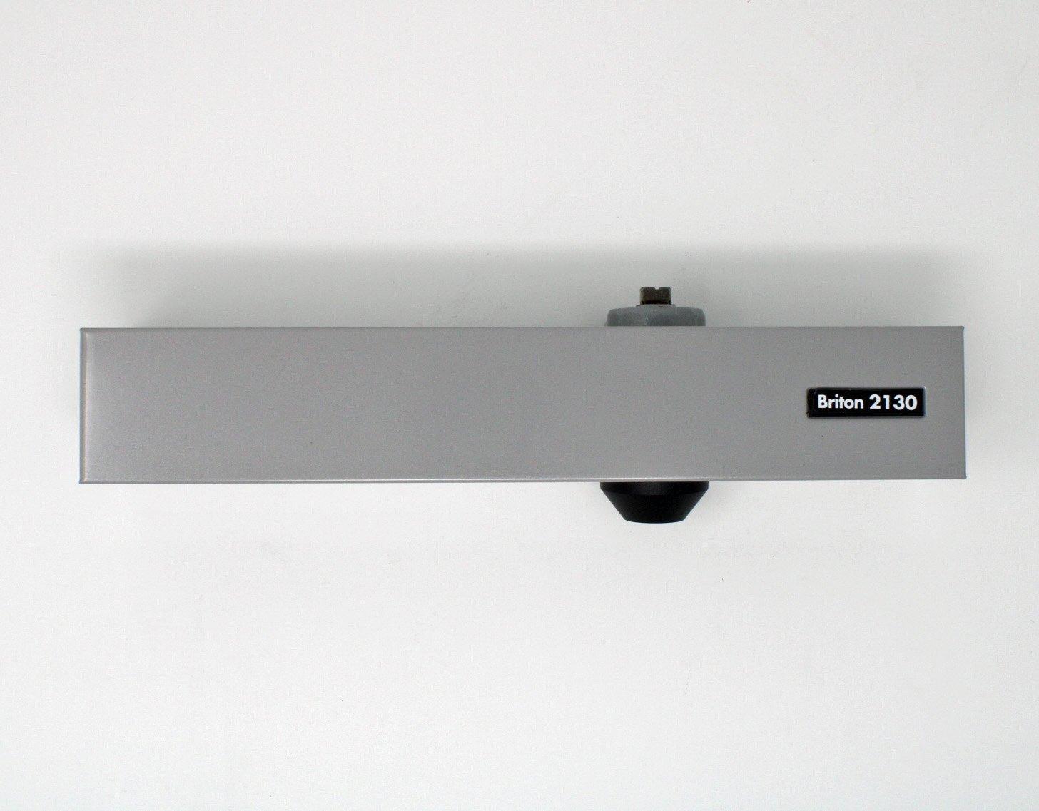 Briton 2130B Size 2-6 Overhead Door Closer With Backcheck