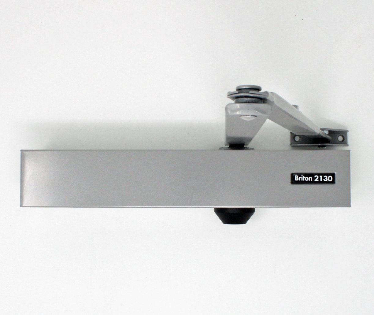 Briton 2130b C 2 6 Door Closer With Backcheck Silver