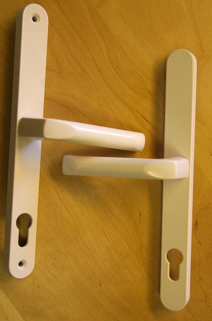 Hoppe 832095 White Lever Door Handle
