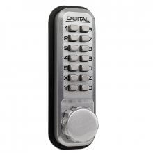 Lockey 2230NL Digital Door Lock For Use With Panic Latch Satin Chrome