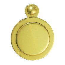 M42 P.Brass Key Hole Cover Covered