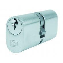 Eurospec 80mm Oval Double Cylinder Lock
