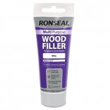 Ronseal Multi Purpose Wood Filler 100G Tube White (Painted Finish)