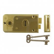 Legge 2136 P.Brass 143Mm Rim Lock Case