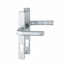 Hoppe 1729881 f1-silver lever door handle