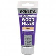 Ronseal Multi Purpose Wood Filler 100G Tube Natural (Pine)