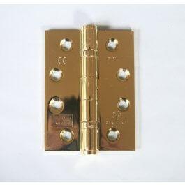 View 14882 102 X 76 X 3Mm P.Brass Ball Bearing Door Hinge Grade 13 Ce Marked
